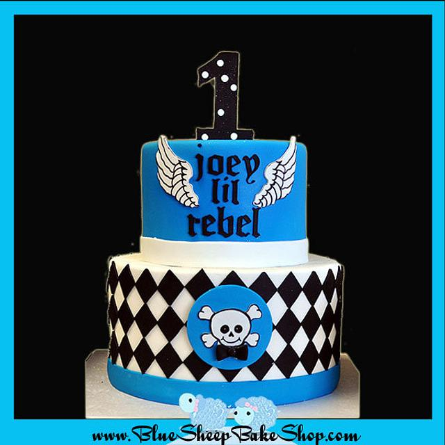 Little Rebel First Birthday Cake