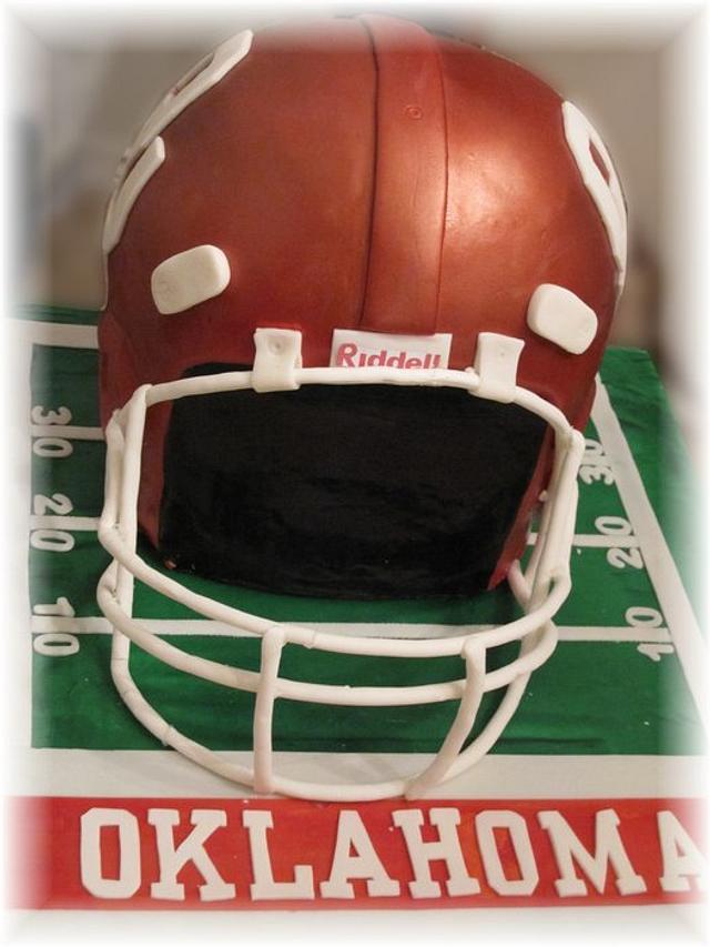 OU Football Helmet