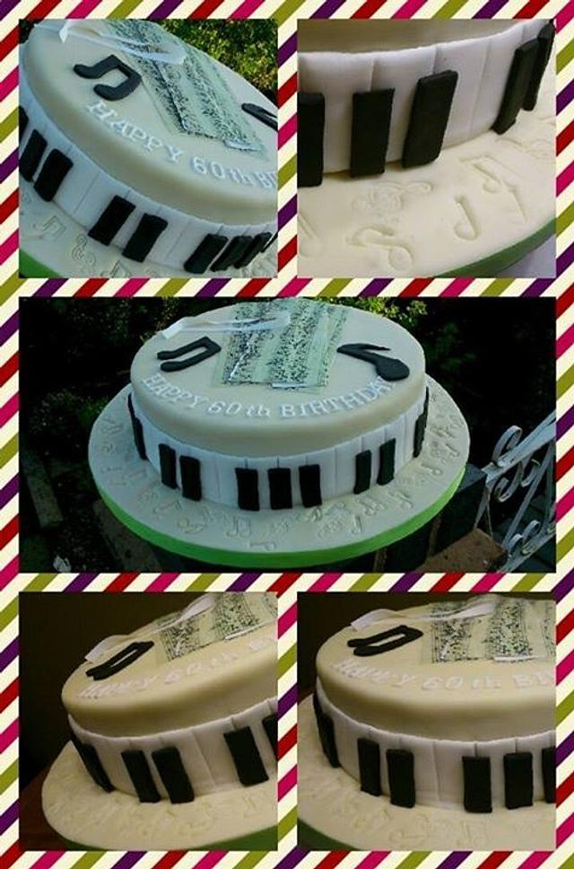 Phenomenal Happy 60Th Birthday Cake By Doro Cakesdecor Funny Birthday Cards Online Alyptdamsfinfo