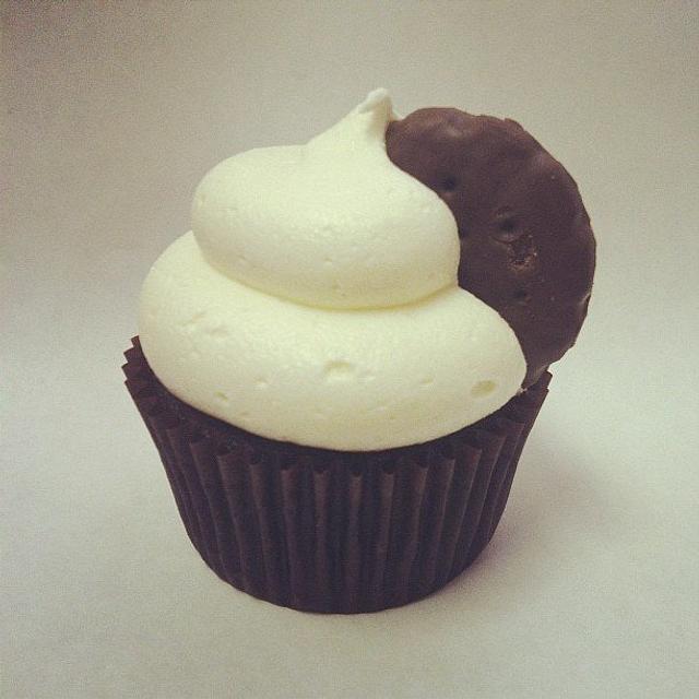 Thin Mint Cupcake