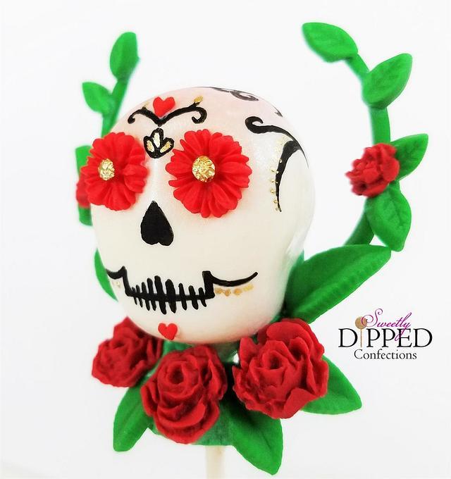 Sugar Skull Cake Pops