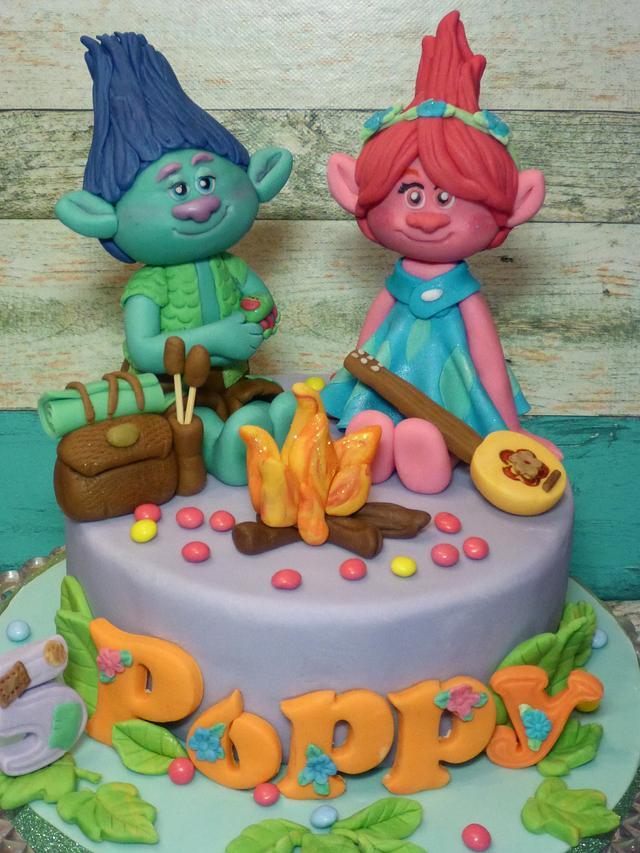 Poppy and Branch cake