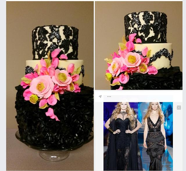 Zuhair Murad inspired cake