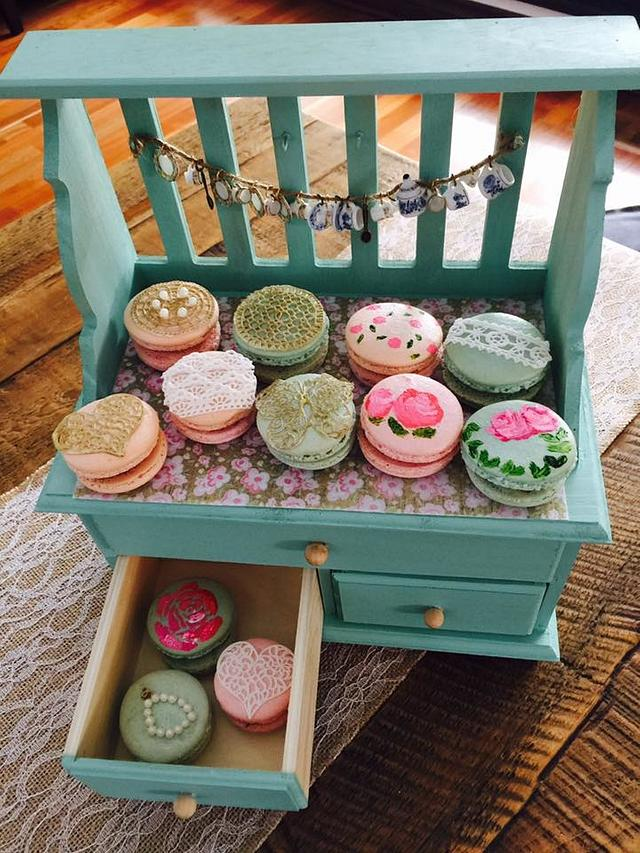 My vintage French Macarons