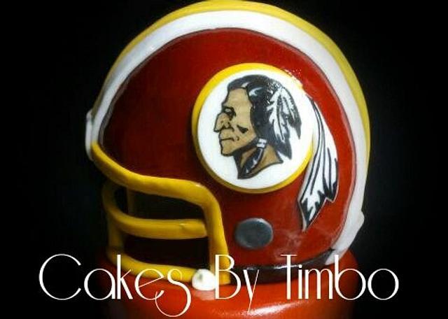 Washington Redskins Cake!
