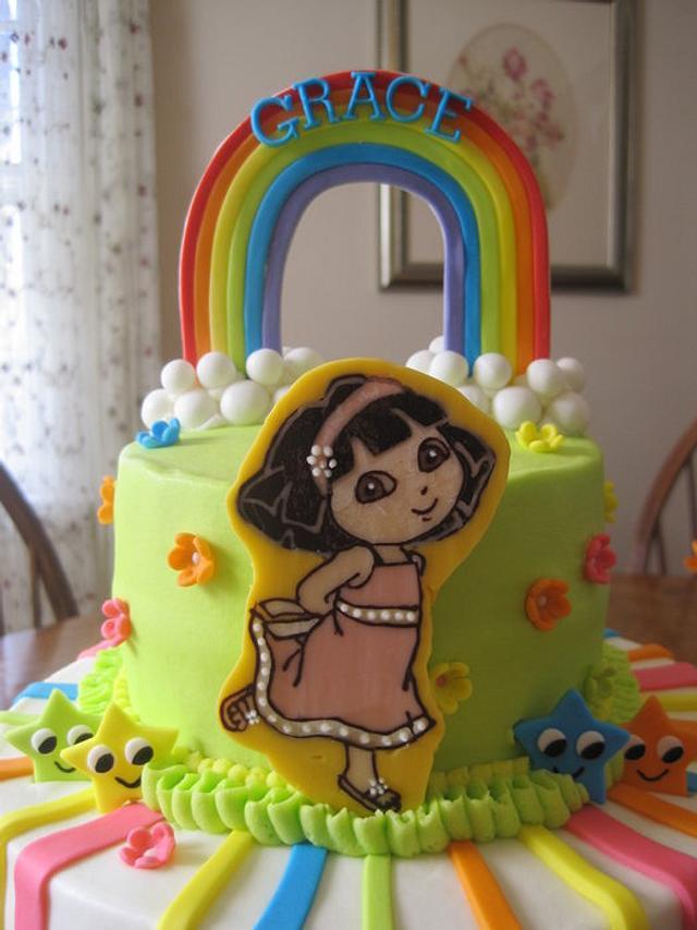 Gracie's Dora Cake