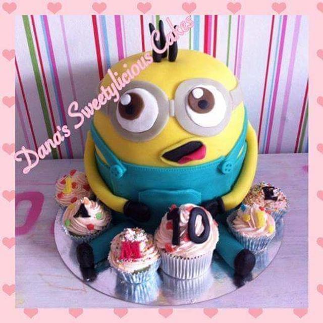 Minion cake 3d