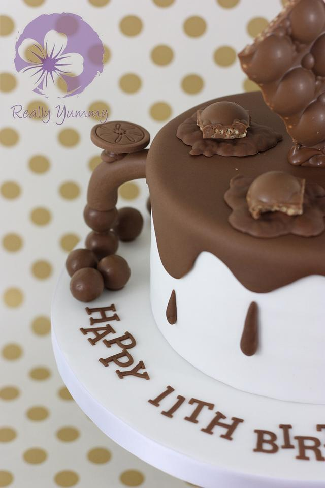 Chocolate and chocolate cake!