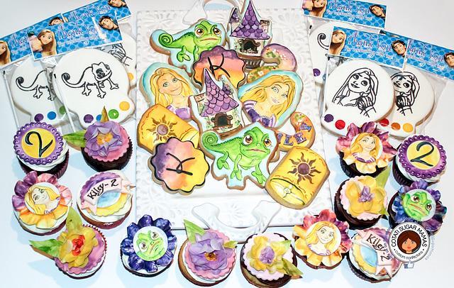 Tangled Themed Birthday Set