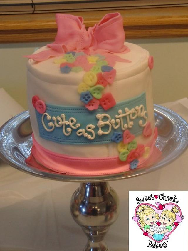"""""""Cute as Buttons"""" Baby Shower"""
