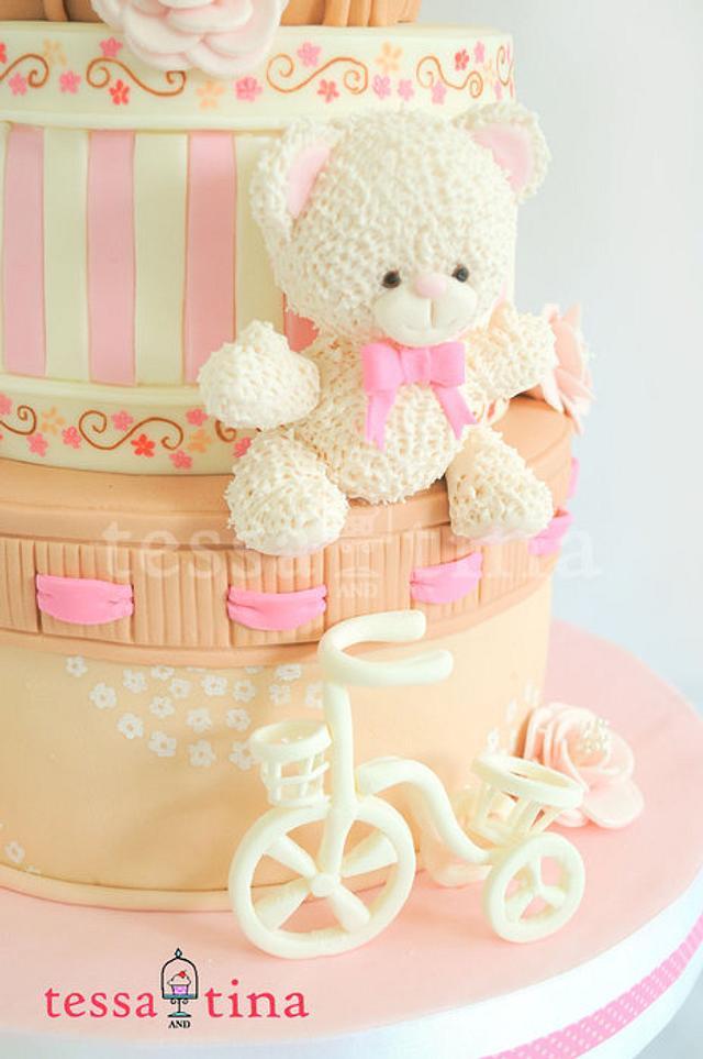 Bears, Basket and Bicycle