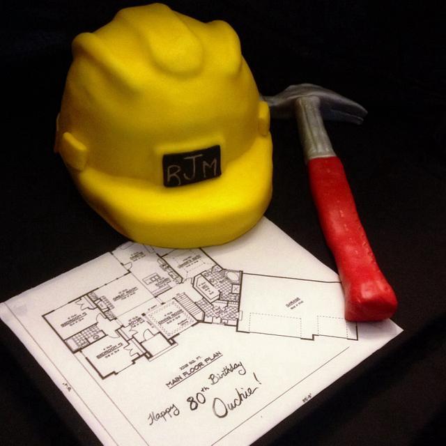 80th birthday construction
