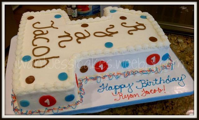 #1 Birthday cake
