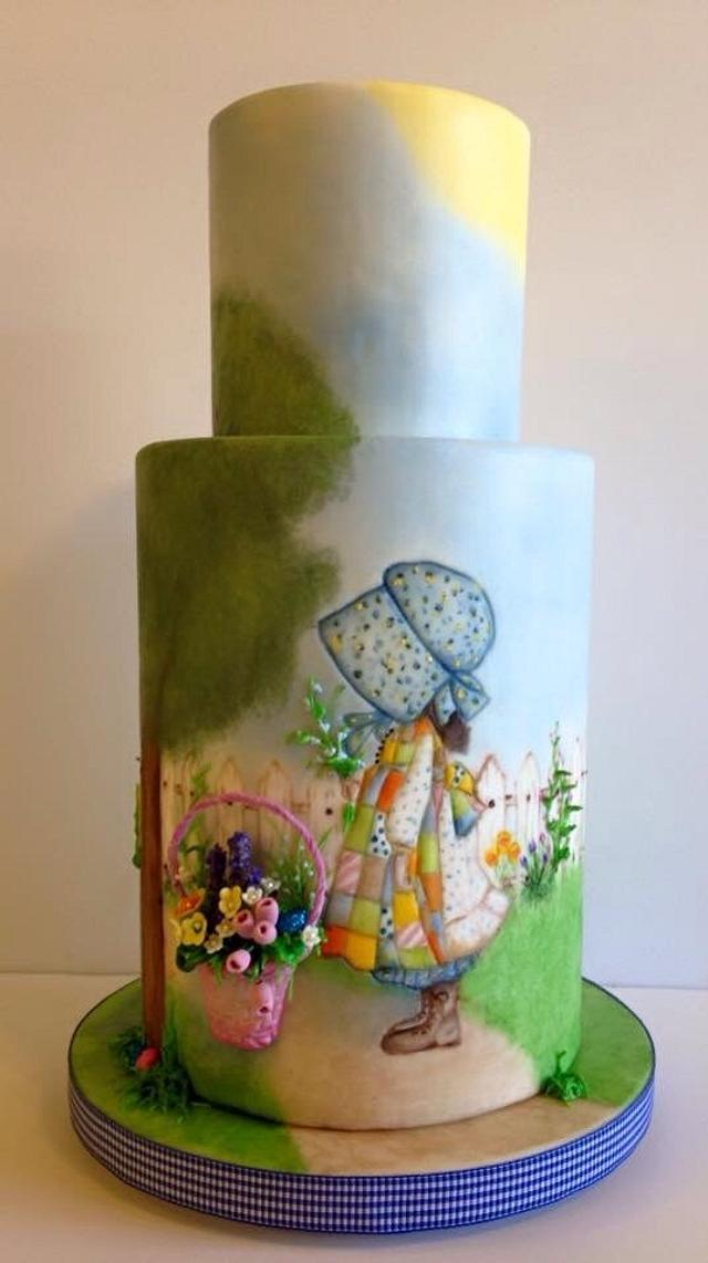 A Painted Easter Holly Hobbie