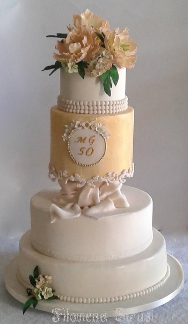 50 th. Anniversary cake