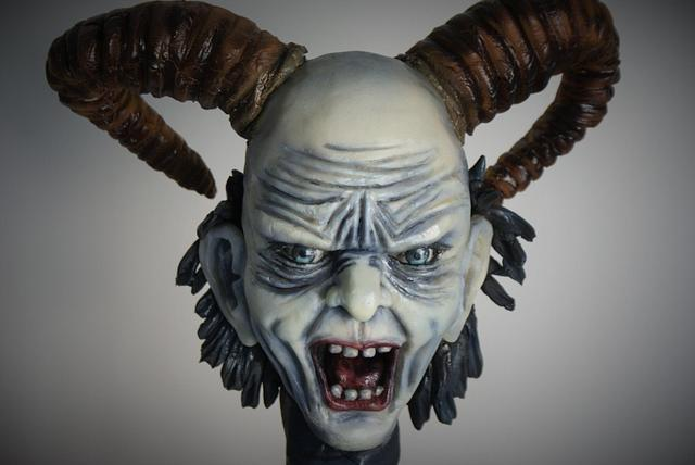"Krampus - the Austrian ""Bad Santa"" Christmas cake"