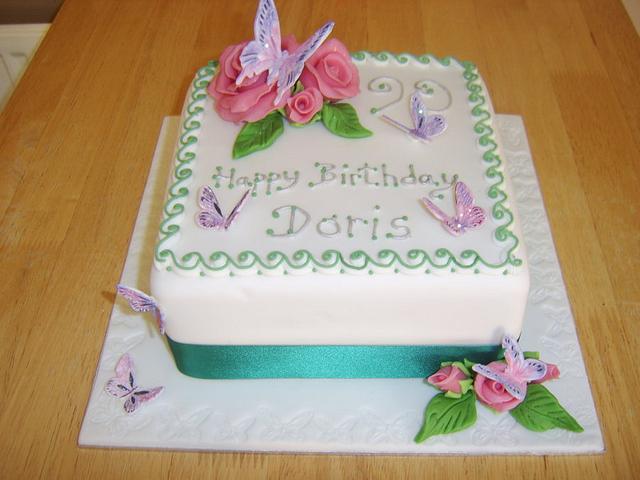 90Th Cake.