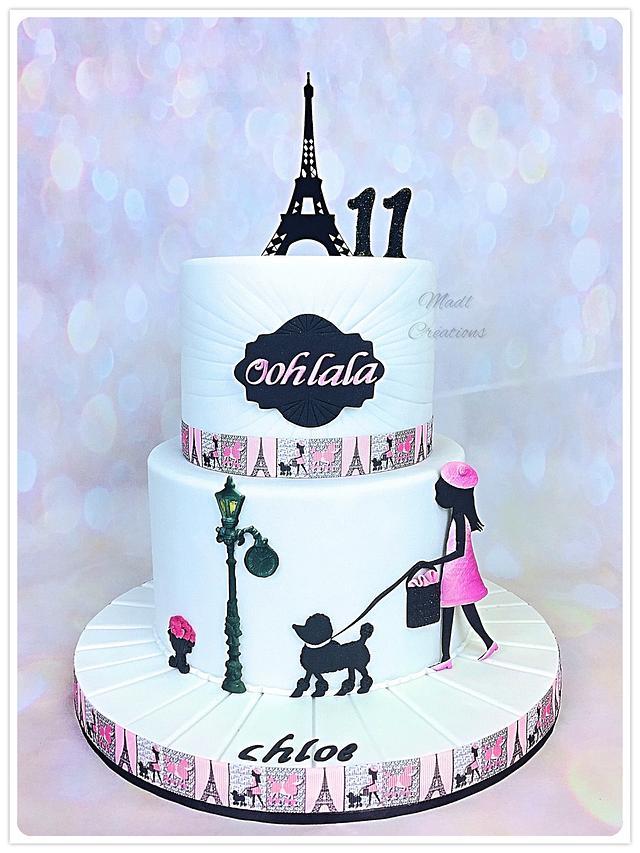 Paris cake OH LA LA