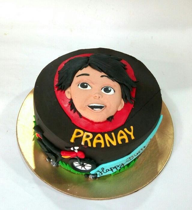 Shiva cartoon cake