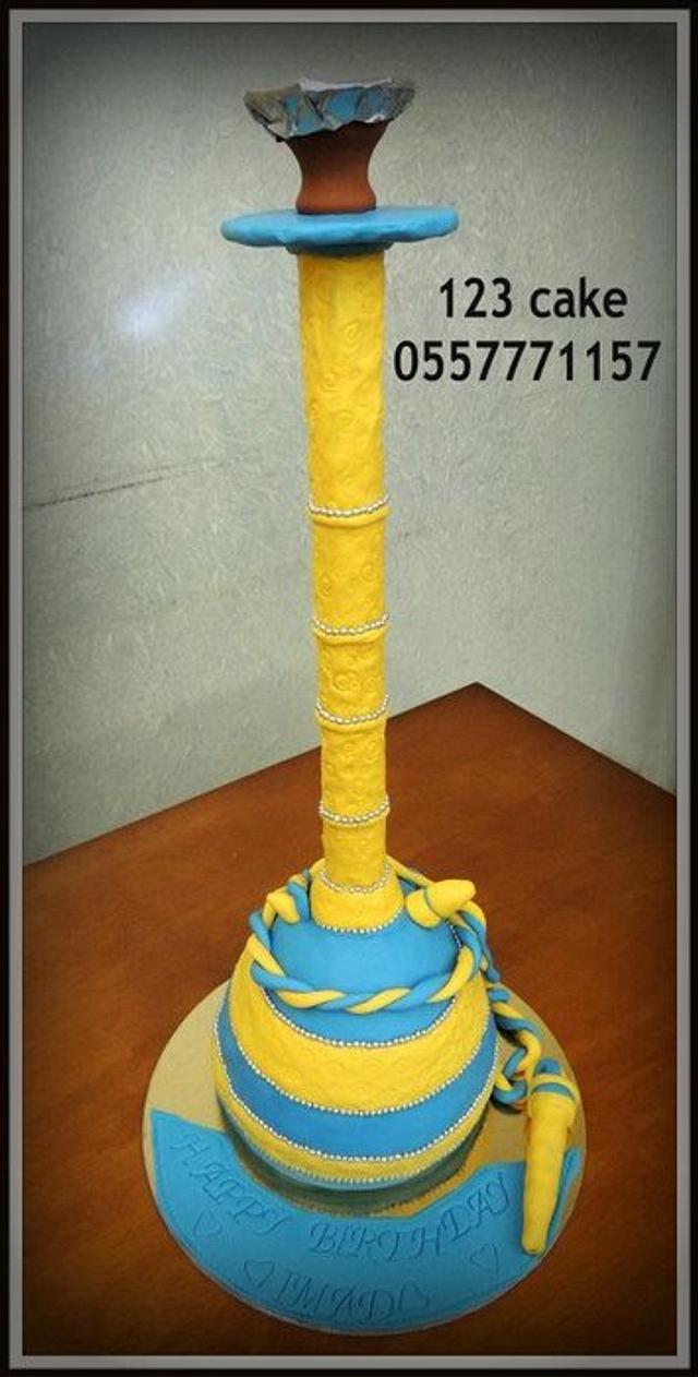 hookah cake, shisha cake