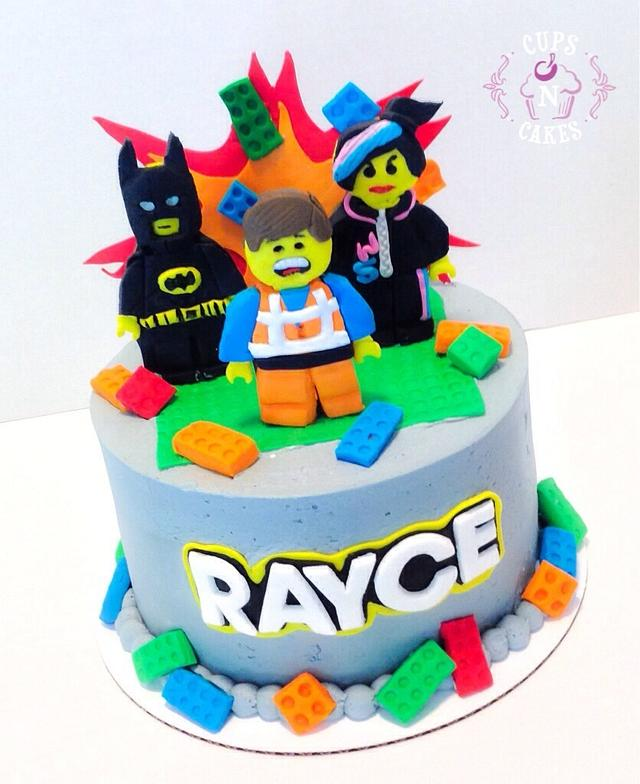 Superb The Lego Movie Cake By Cups N Cakes Cakesdecor Birthday Cards Printable Trancafe Filternl