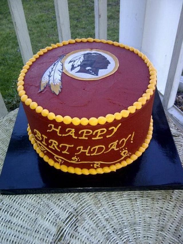The Redskins Cake