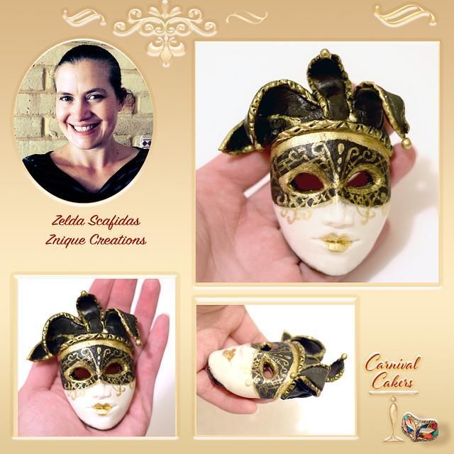 Carnival Cakers - Handmade mask