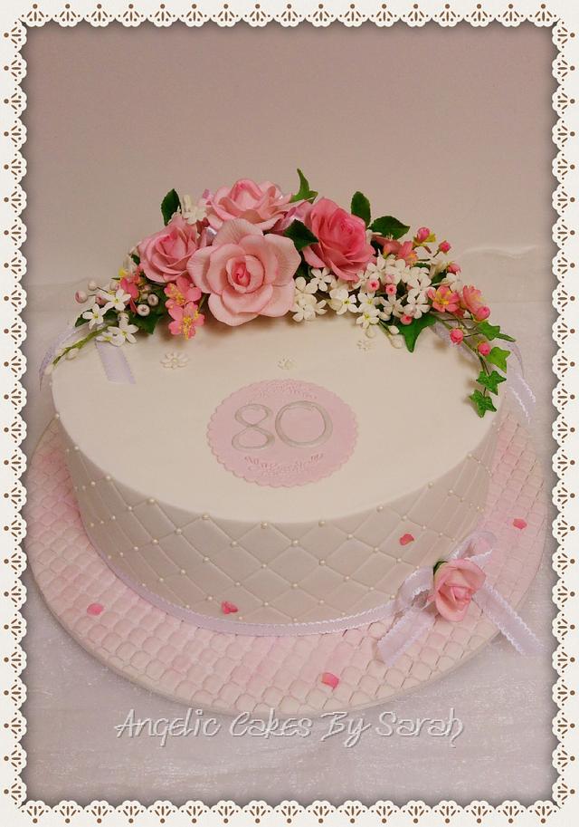 Rose Arrangement cake