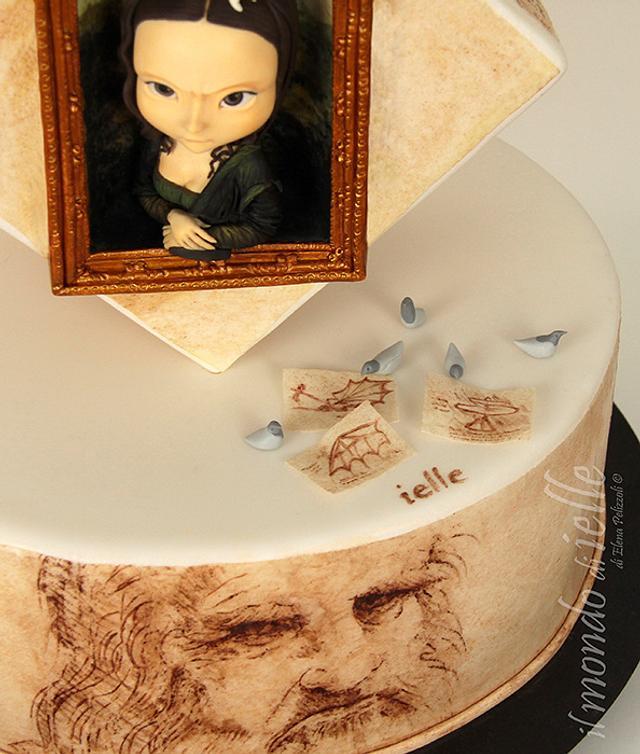 Leonardo da Vinci - Italian Sugar Dream Collab
