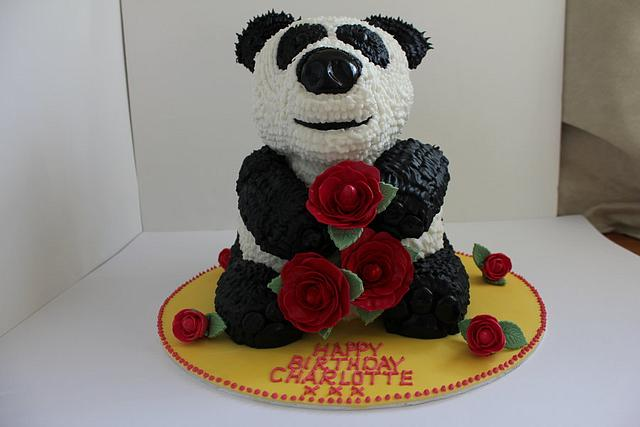 Giant Panda Birthday Cake!