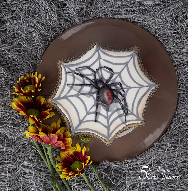 Creepy Spider and Ghostly Boo Cookies 🕷️👻