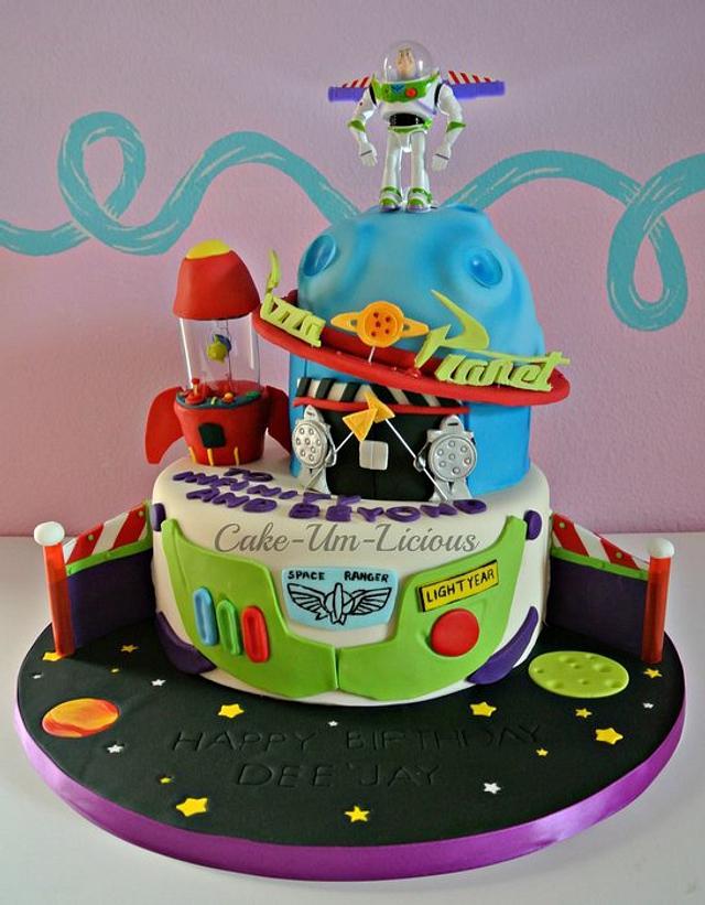 Magnificent Buzz Lightyear Cake Cake By Andrea Diaz Cakesdecor Funny Birthday Cards Online Inifodamsfinfo