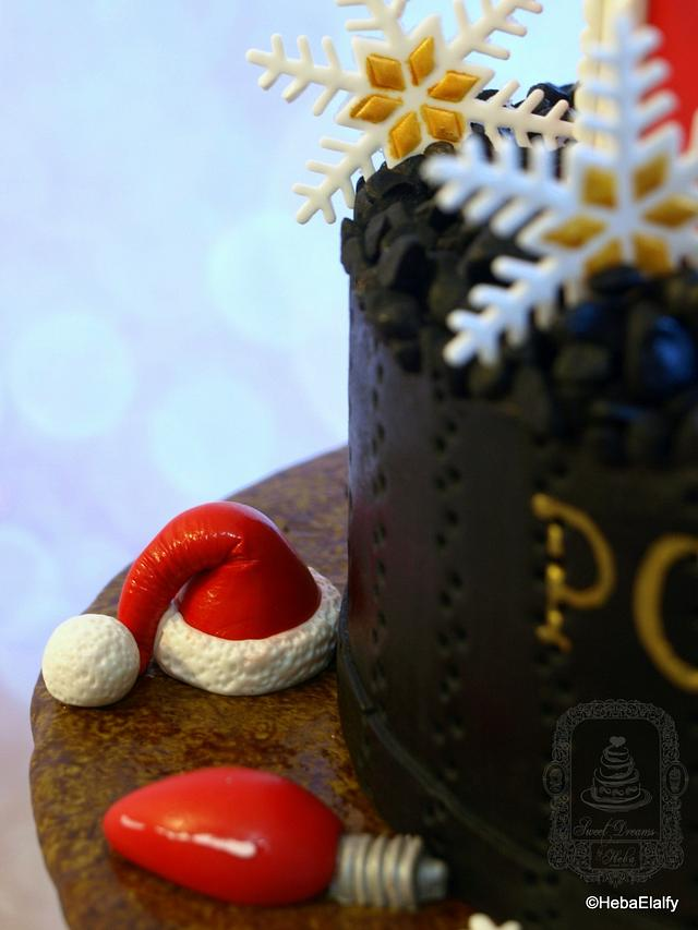 The Polar Express cake (HFTH Collab)