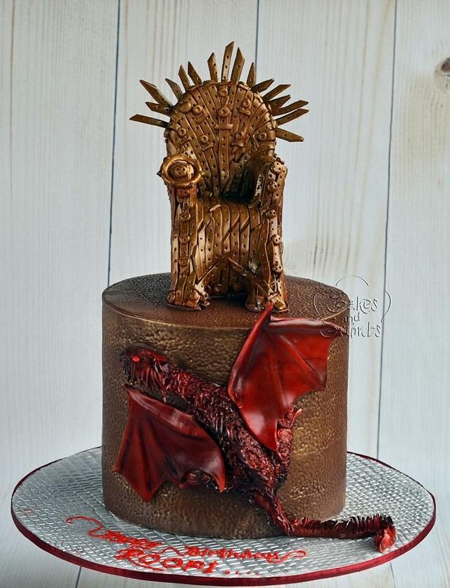 Games of Thrones cake ..