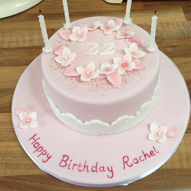 Cool Pink 22Nd Birthday Cake Cake By The Rosebud Cake Cakesdecor Birthday Cards Printable Trancafe Filternl