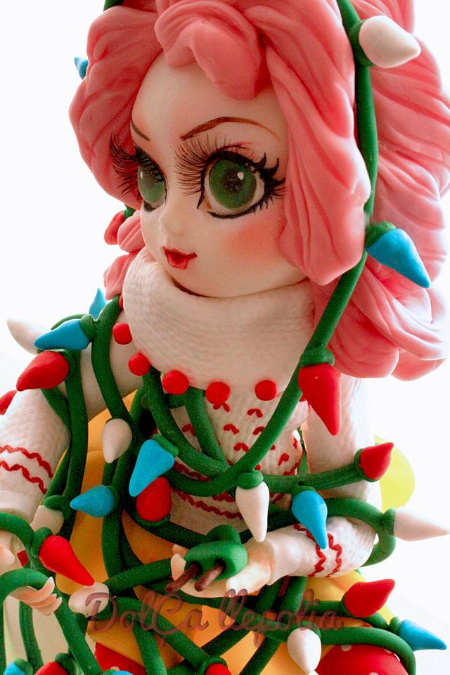 Pullip tangled in christmas