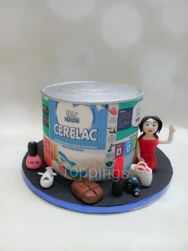 Cerelac tin cake