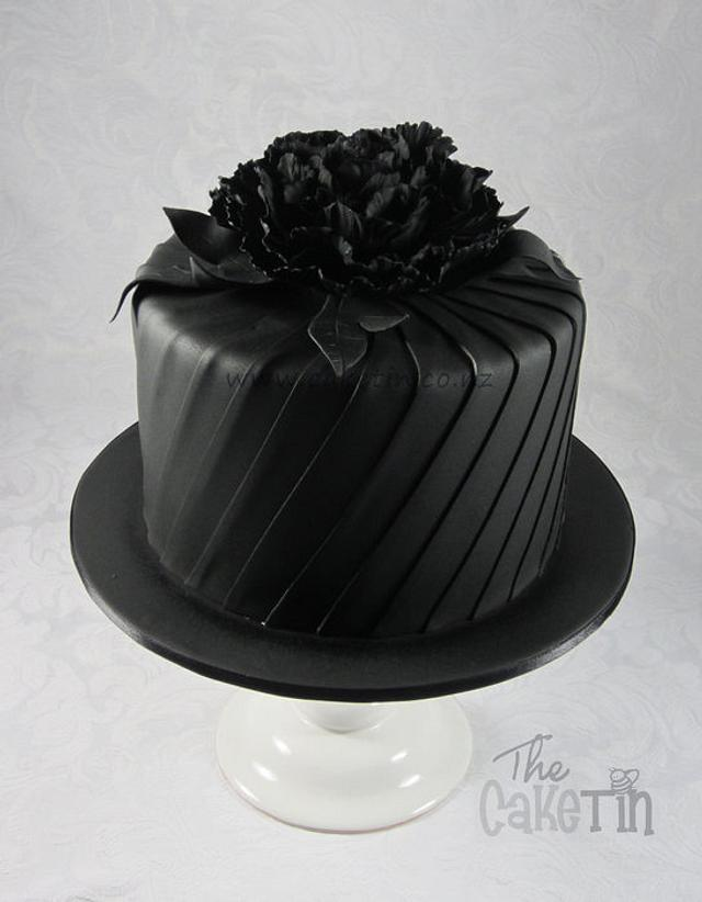 Black Friday Birthday Cake