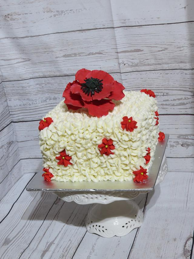 Remembrance Day/Anniversary Cake
