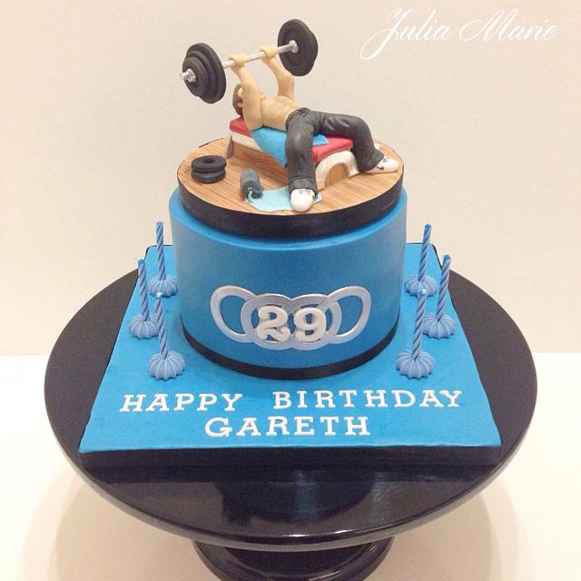 Body Builder Gym Cake