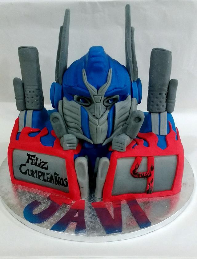 Cake Optimus Prime
