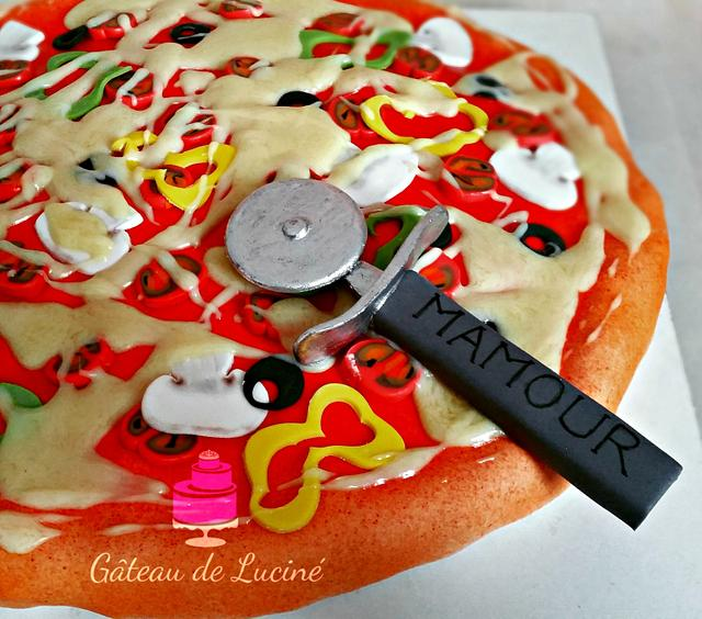 A very sweet pizza