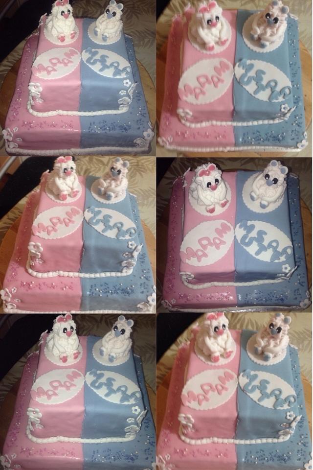 Strange Boy Girl Birthday Cake Cake By Helenfawaz91 Cakesdecor Personalised Birthday Cards Paralily Jamesorg