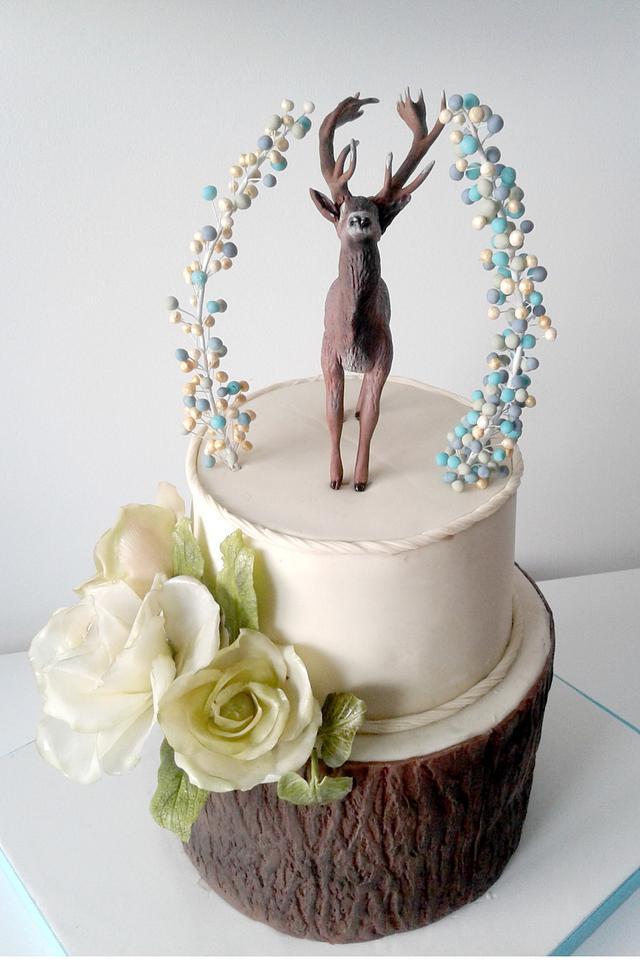 Deer cake for Hunters' Ball