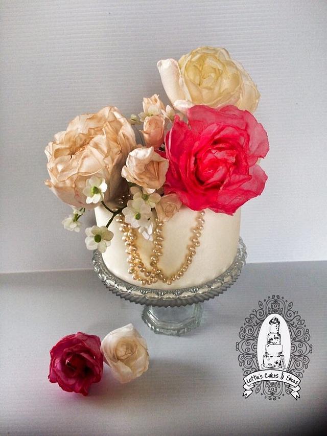 Vintage ️Wafer Bouquet