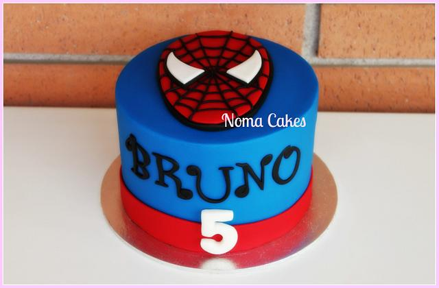 TARTA SPIDERMAN- SPIDERMAN CAKE