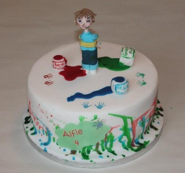 Horrid Henry cake!