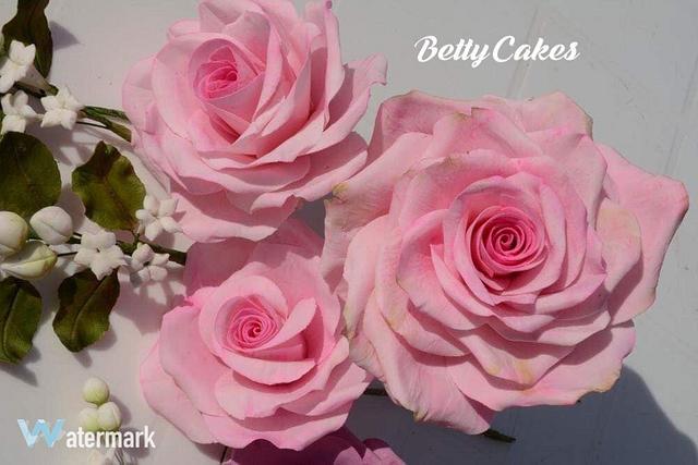 My sugar Roses