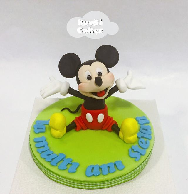 Mikey cake topper
