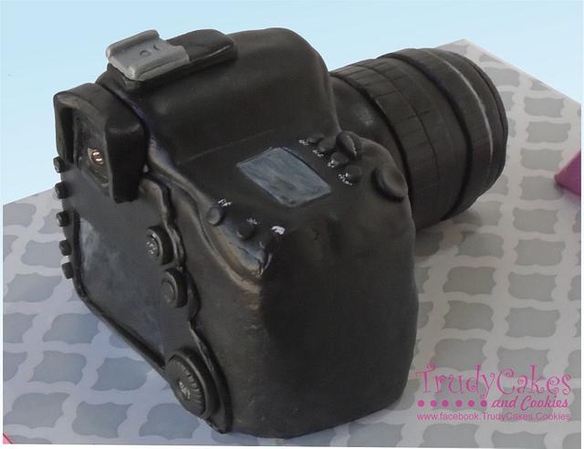 Canon Cake Back